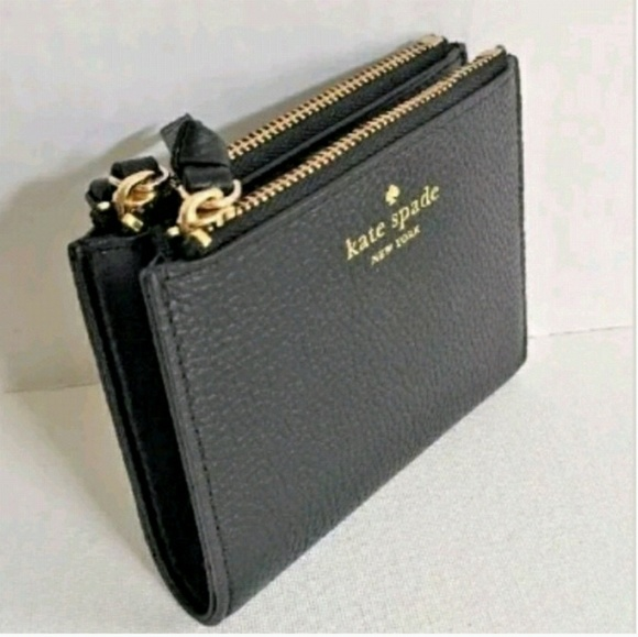 1901ecdaa9521 ♤kate spade Malea Mulberry Street Leather Wallet♤